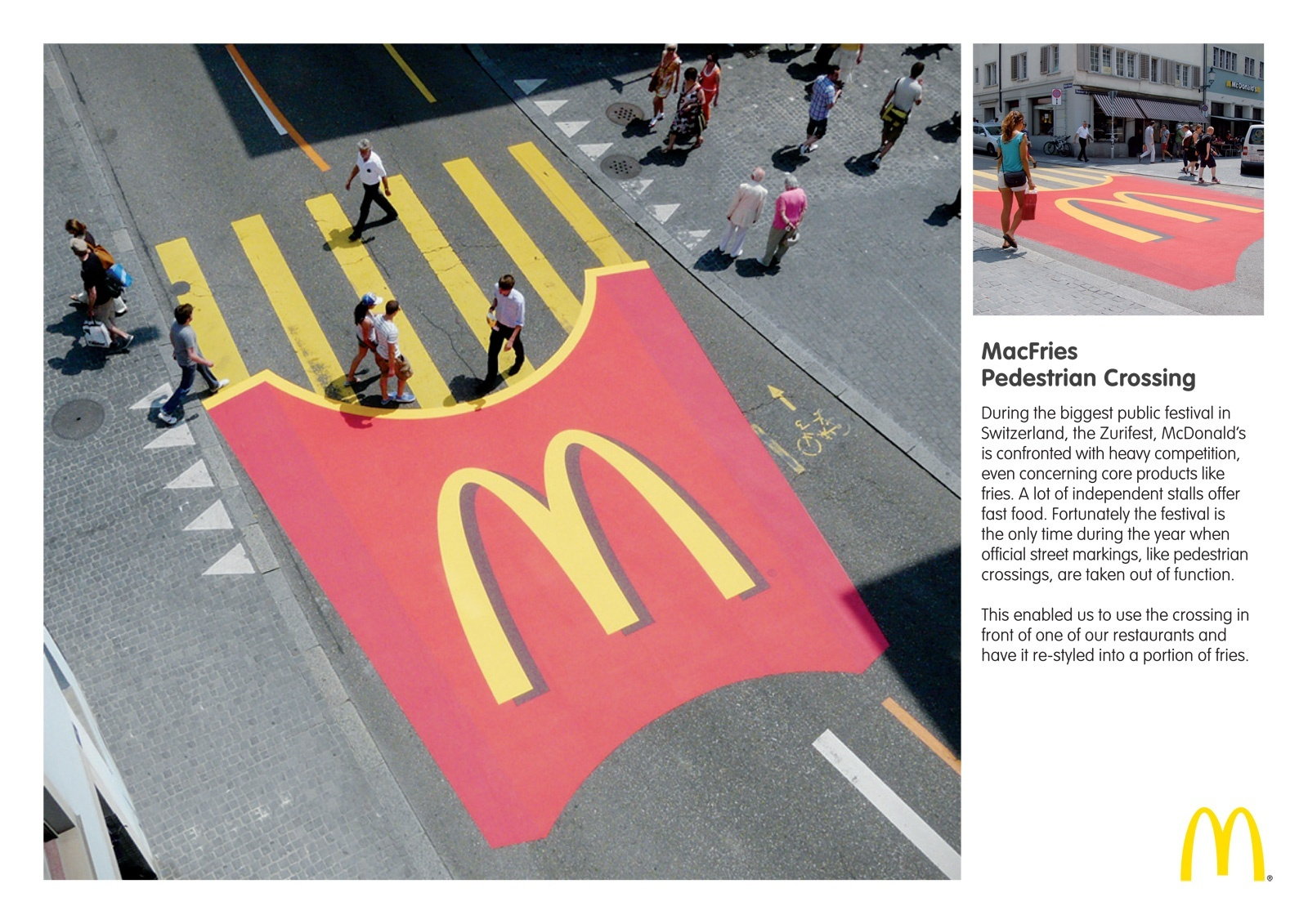 Guerilla marketing mcdonald's