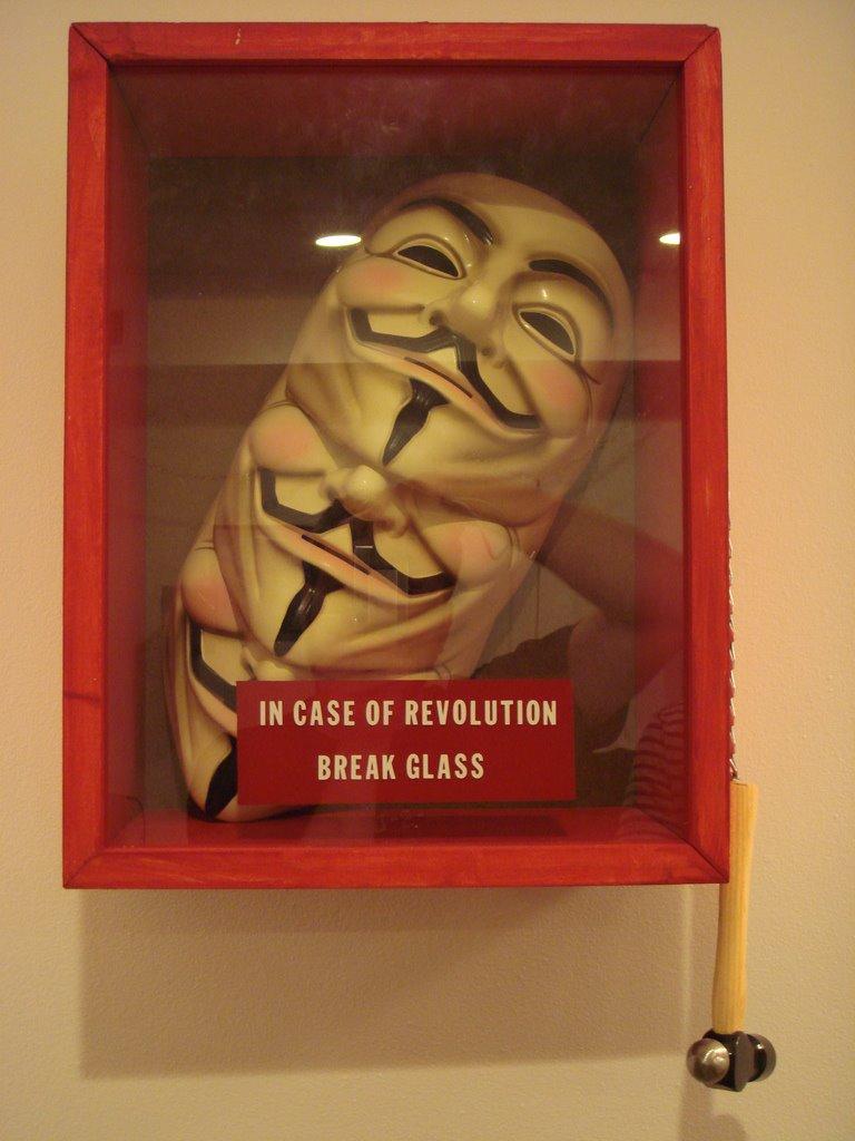 guerrilla marketing voorbeelden V for Vendetta