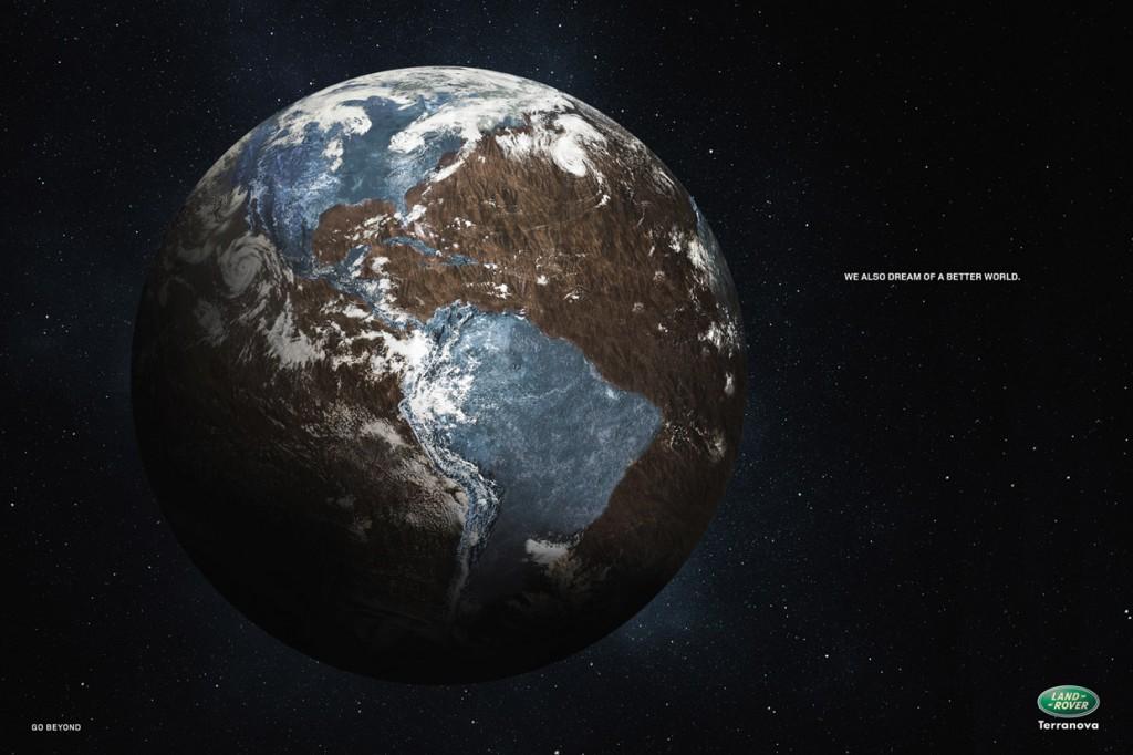land rover advertentie earth