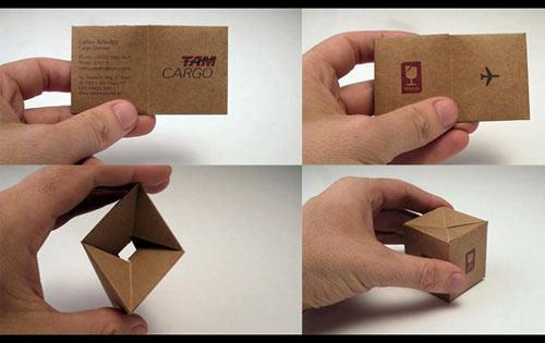 creatief visitekaartje cargo