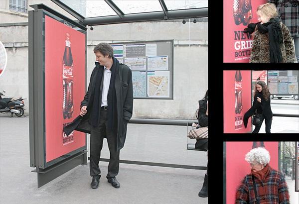 Guerrilla Marketing Voorbeelden Bushok Advertentie Coca Cola