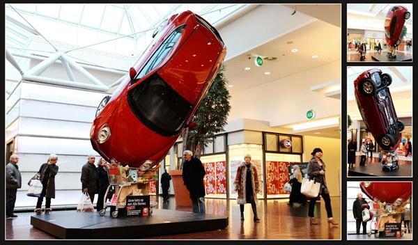 Guerrilla Marketing Voorbeeld 24 Alfa Romeo