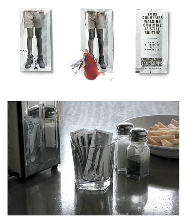 Guerrilla Marketing Voorbeeld 29 Landmijn