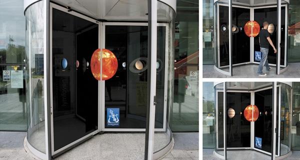 Guerrilla Marketing Voorbeeld 36 Planetarium Praag