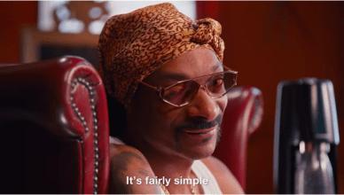 Snoop Dogg Sodastream ad
